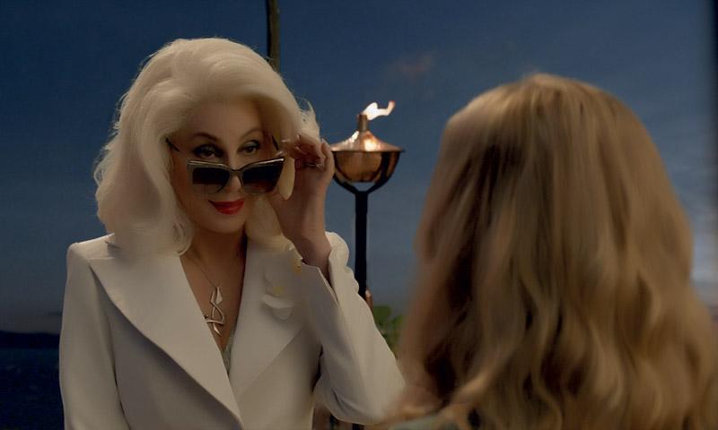 El divertido gag de Cher en el tráiler final de 'Mamma Mía! Una y otra vez'