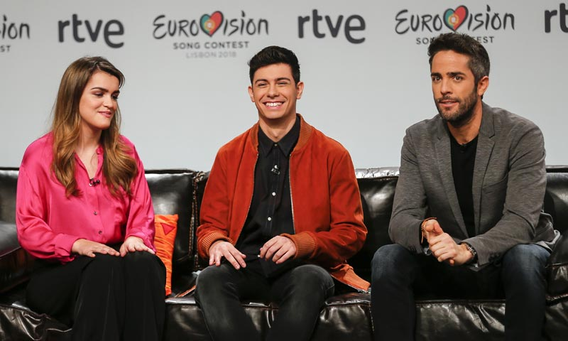 ¿Qué amigos han acompañado a Amaia y Alfred a Eurovisión?
