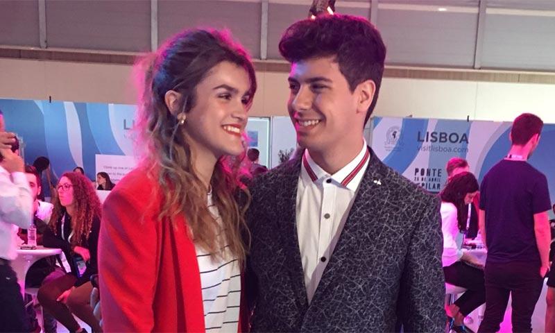 Alfred y Amaia, de cumplir un sueño a hacer realidad los de sus fans en Lisboa