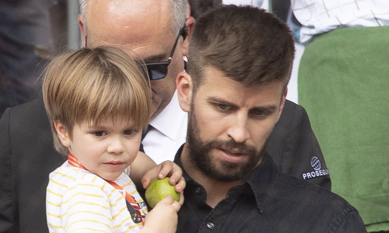 ¿Donde están Gerard Piqué y su hijo Sasha mientras Shakira ensaya?