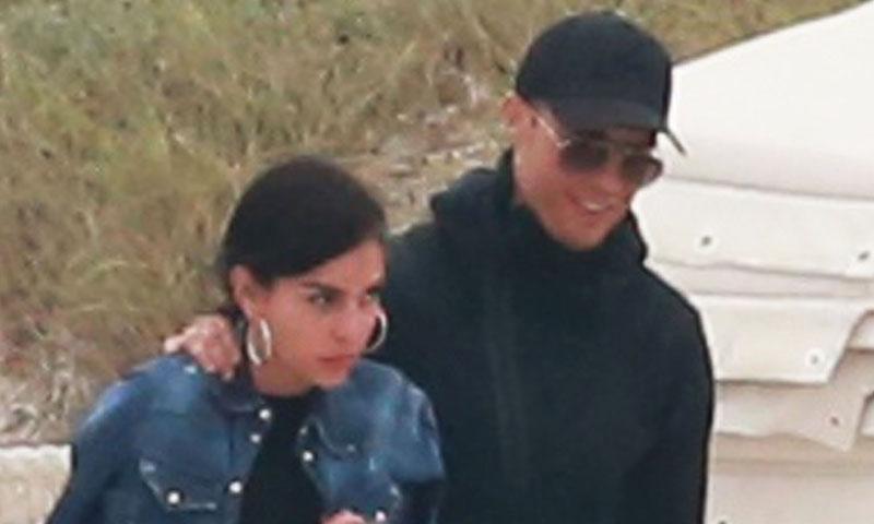 ¡Con ganas de verano! Georgina Rodríguez y Cristiano Ronaldo ya están en Ibiza