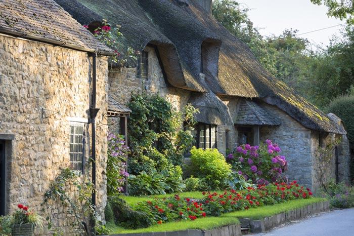 Calles de Cotswold, Inglaterra