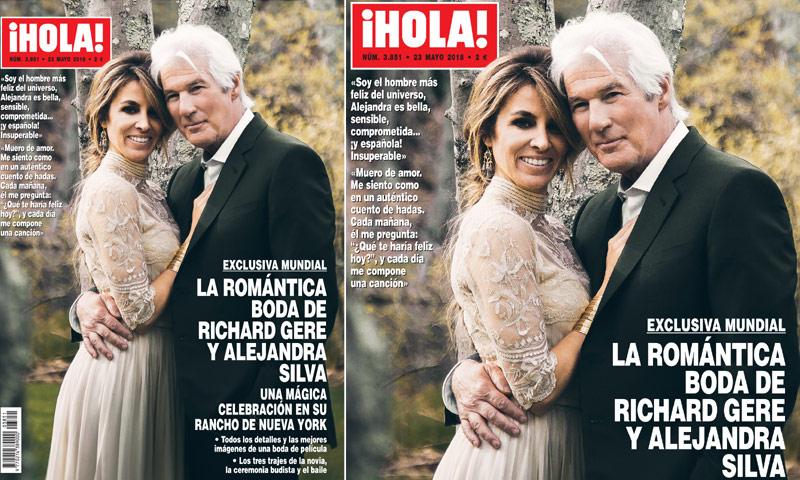 Exclusiva Mundial En Hola La Romántica Boda De Richard Gere Y