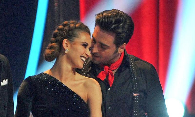 El apasionado debut de David Bustamante y Yana Olina en 'Bailando con las estrellas'