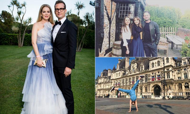 De gala y de turismo: el reparto de 'Suits' se prepara para la boda