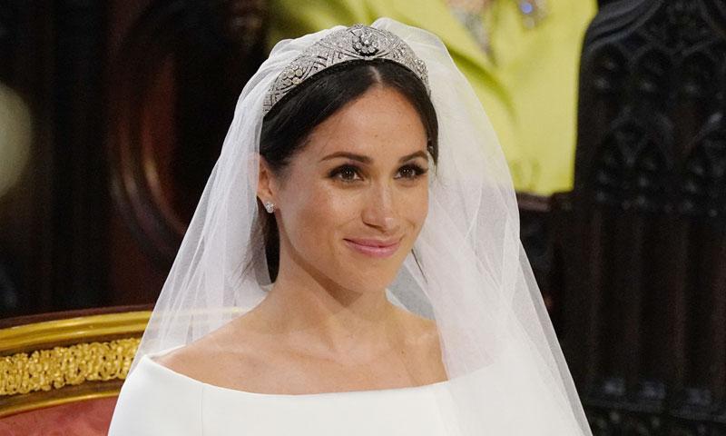 Meghan Markle elige una joya excepcional: la tiara 'bandeau' de diamantes que perteneció a la reina Mary