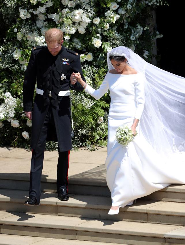 Vestidos de la boda de harry