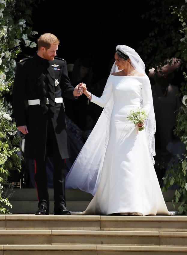 boda meghan markle y príncipe harry: el vestido de novia