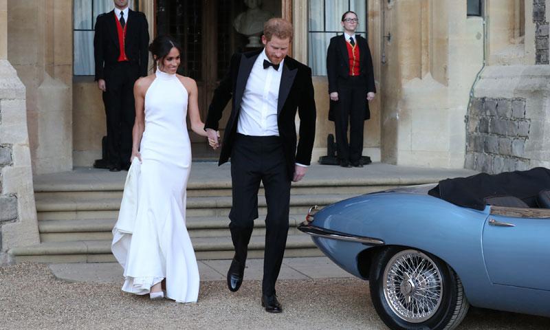 Segundo vestido novia inglaterra