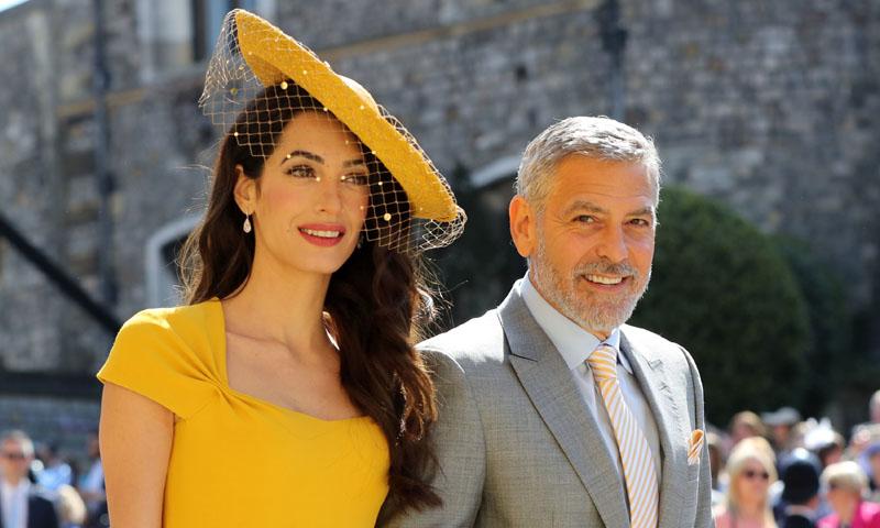 Amal Clooney o cuando ser la más elegante es cuestión de un color decisivo