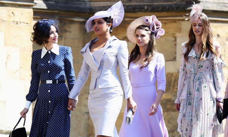 El marido de Meghan en la ficción y sus compañeros de 'Suits' no se pierden la gran boda real