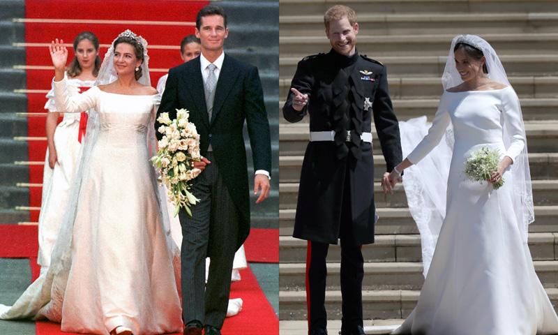 vestido de novio de meghan markle