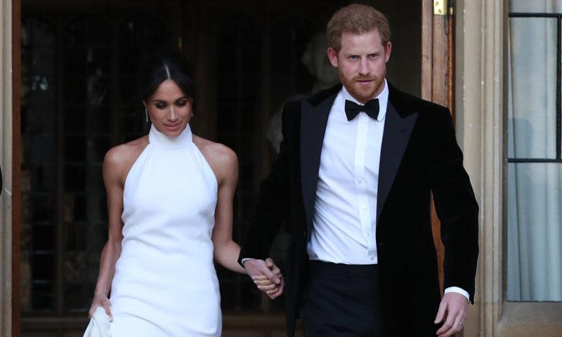 Harry y Meghan ponen el broche de oro a su gran día con una fiesta privada en Frogmore House