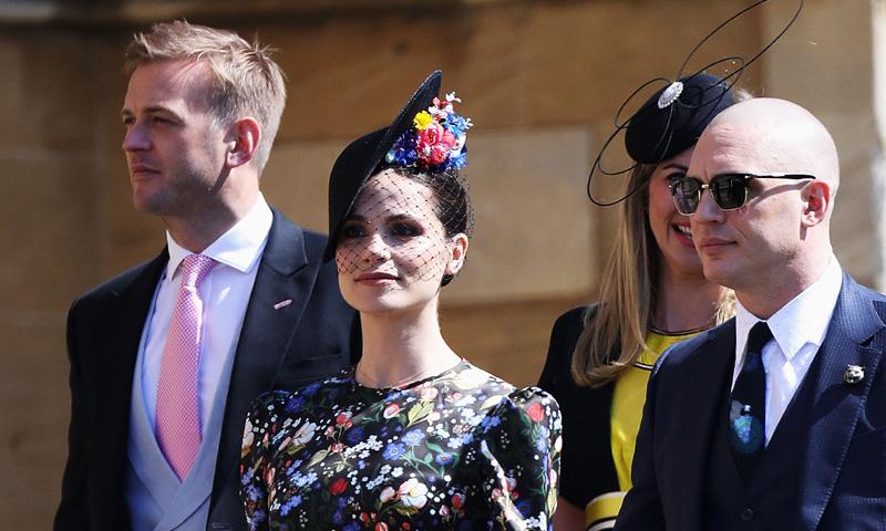 Charlotte Riley, la doble de Kate Middleton, 'se cuela' en la boda del príncipe Harry y Meghan