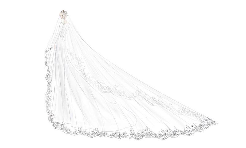 Tres bocetos y el secreto mejor guardado: ¿cómo fue vestir de novia a Meghan Markle?
