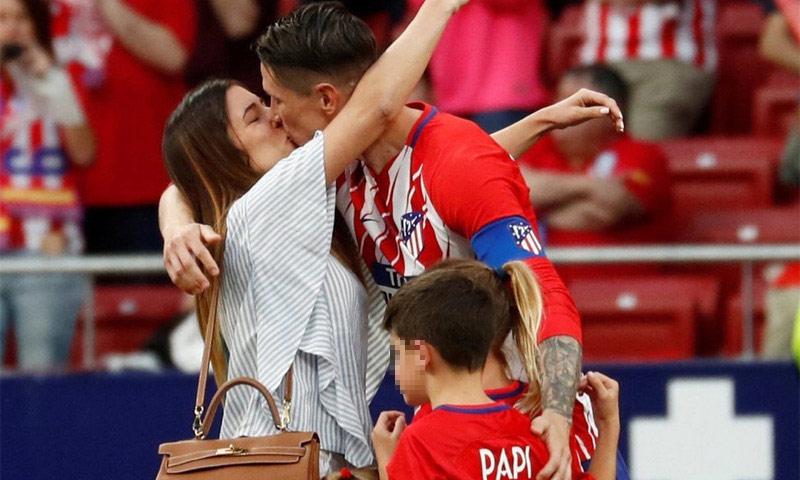La romántica declaración de amor de Fernando Torres a su mujer