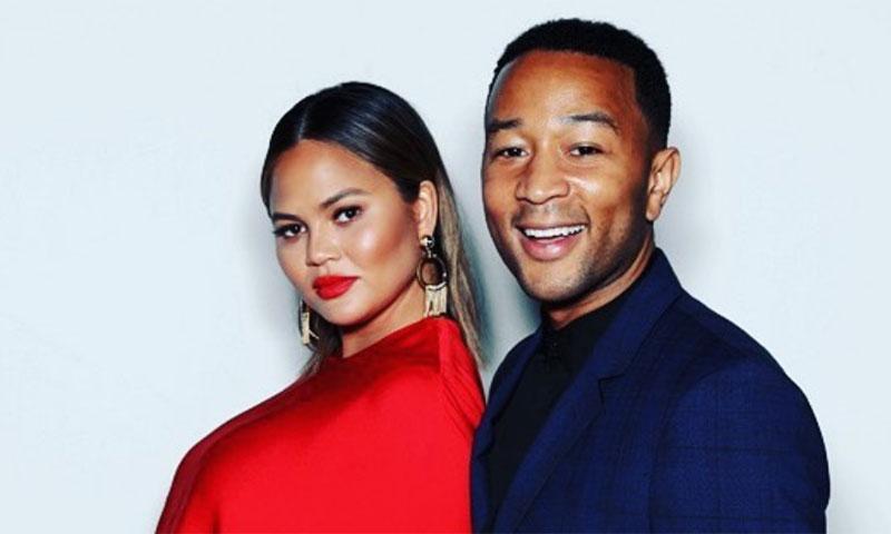 John Legend y Chrissy Teigen presentan a su segundo hijo en Instagram