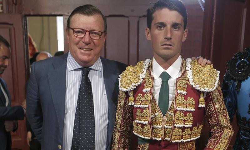 Alfonso, el hijo novillero de César Cadaval, debuta en Las Ventas