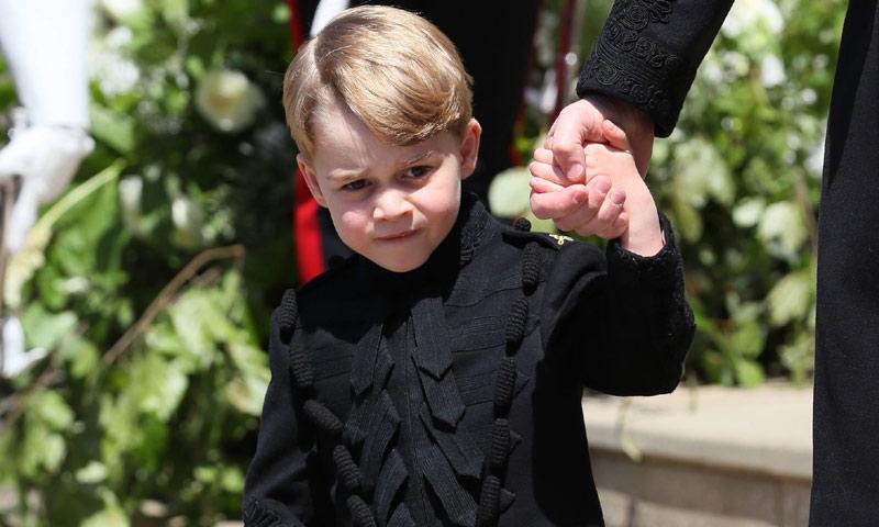 El motivo por el que nunca habíamos visto al príncipe George con pantalones largos antes de la boda de Meghan y Harry