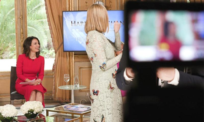 Así se hizo el programa especial de HOLA.com sobre la boda de Harry y Meghan