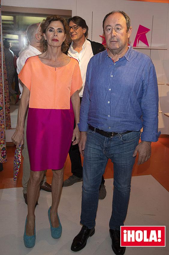 Ágatha Ruíz de la Prada y Luis Miguel Rodríguez