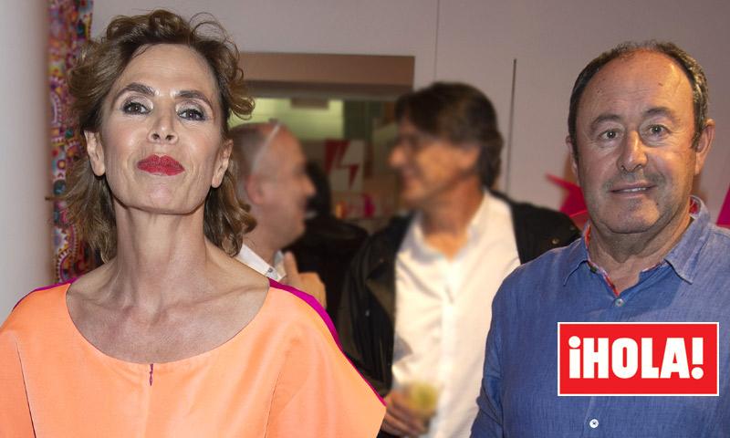 EXCLUSIVA: las imágenes que confirman la reciente pero importante amistad de Ágatha Ruiz de la Prada y Luis Miguel Rodríguez