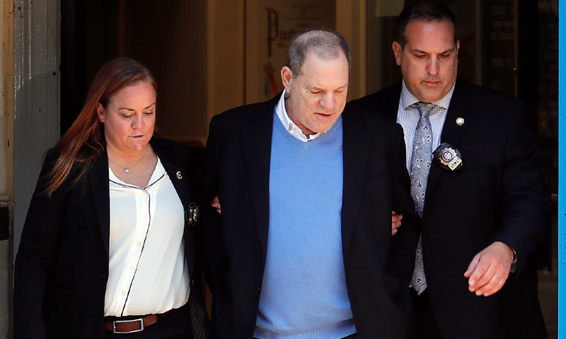 Harvey Weinstein, en libertad bajo fianza de 8 millones de euros y a la espera de juicio