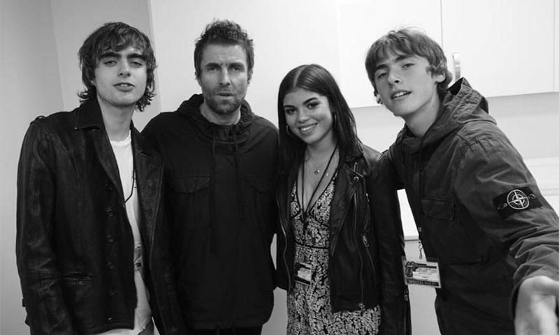 El líder de Oasis, Liam Gallagher, se reencuentra con su hija 19 años después