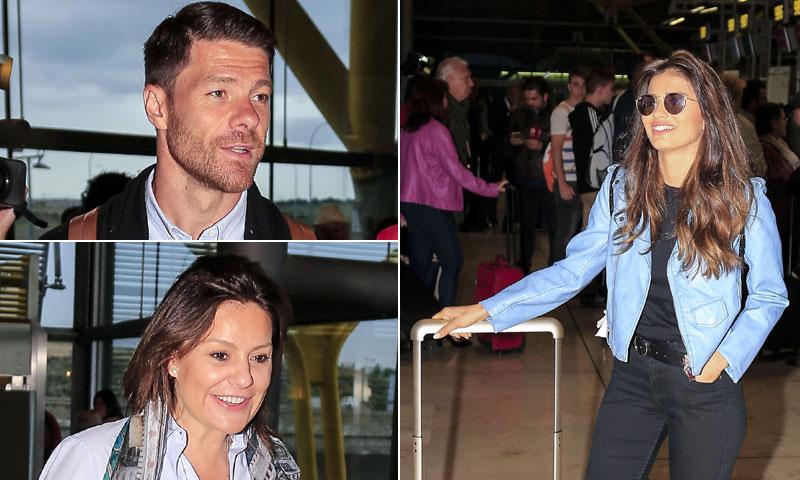 ¡Los jugadores del Real Madrid no están solos! las WAG´s y otros rostros conocidos viajan con ellos a Kiev