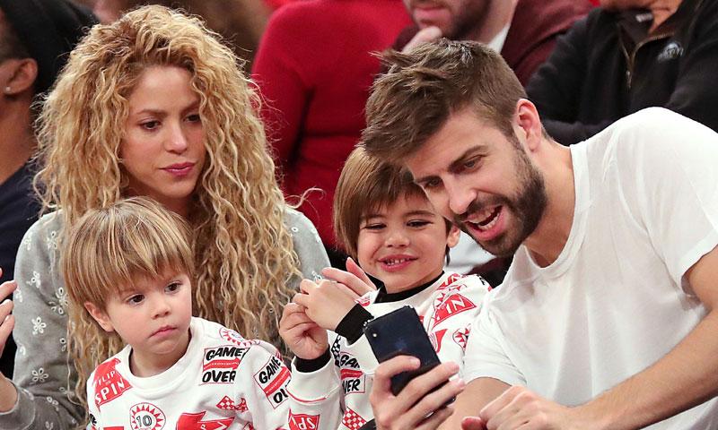 Gerard Piqué muestra a su hijo Sasha imitando a Shakira ¡y baila tan bien como su madre!