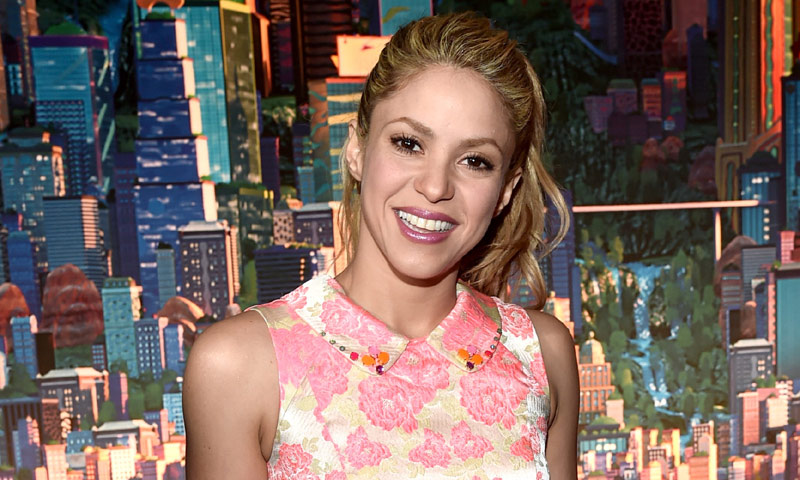 Shakira muestra a unos inesperados visitantes entre bambalinas