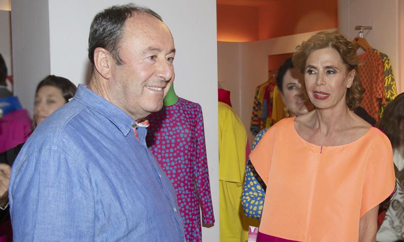 Ágatha Ruiz de la Prada habla de Luis Miguel Rodríguez: 'Me parece adorable'