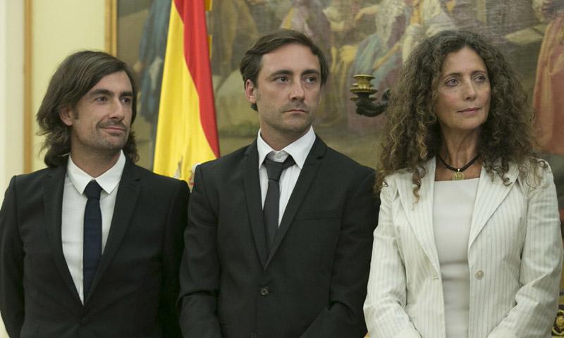 La familia de Ángel Nieto, dividida nueve meses después de su fallecimiento