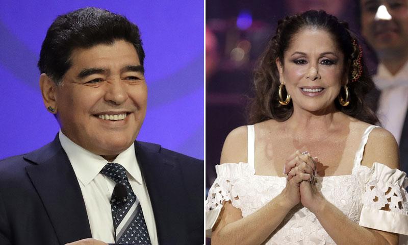 Kiko Rivera descubre que Maradona entrena al ritmo de Isabel Pantoja