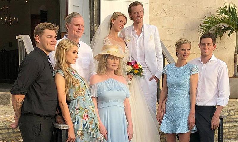 La boda en el paraíso (con fiestón incluido) de Barron, hermano de Paris Hilton