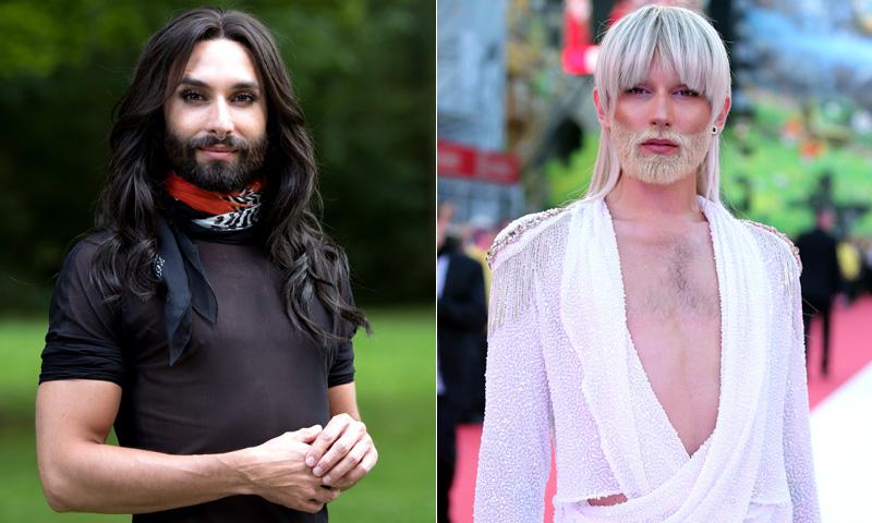 Conchita Wurst, irreconocible tras su cambio de 'look'