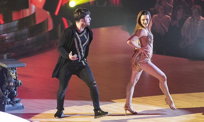David Bustamante y Yana Olina sorprenden con su baile más sexy