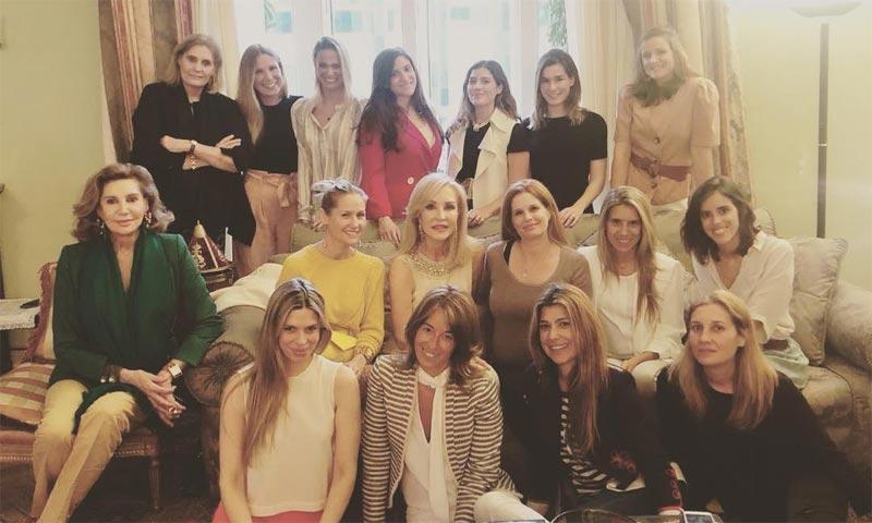 Carmen Lomana prepara a Olivia de Borbón la 'babyshower' de su hijo Fernando