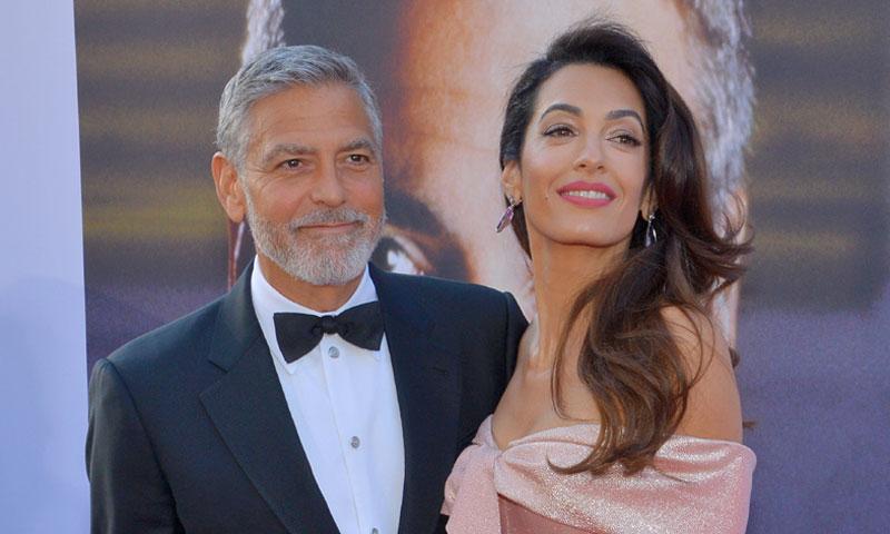 El discurso de Amal que hizo llorar a George Clooney la noche de su homenaje en Hollywood