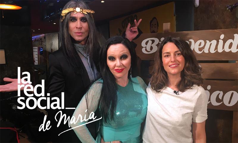 Alaska y Mario recuerdan el divertido momento que vivieron en su casa con Ágatha Ruiz de la Prada