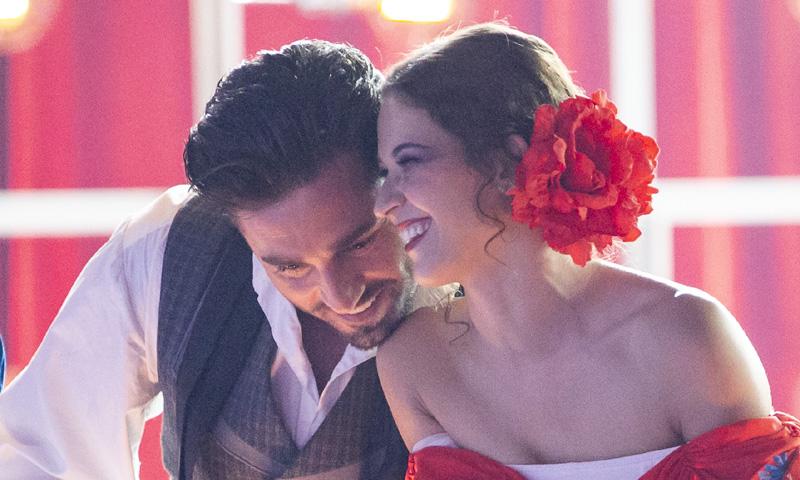 Las bonitas imágenes de David Bustamante y Yana Olina cuando nadie les ve