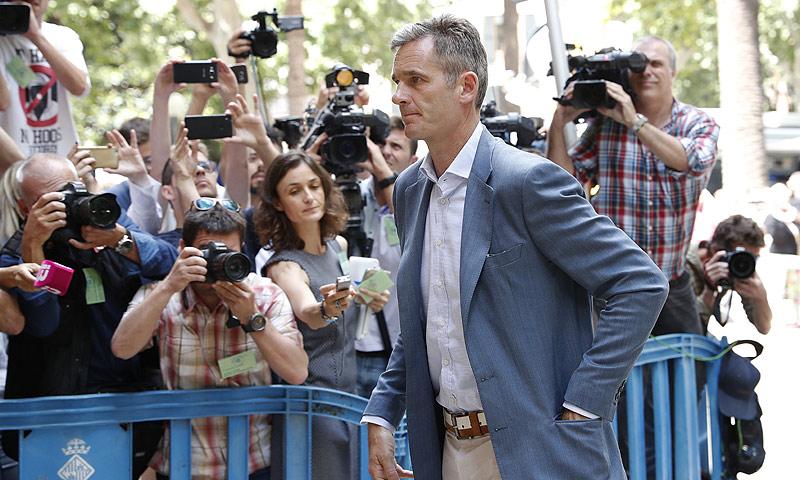 Iñaki Urdangarin tiene un plazo de cinco días para ingresar en prisión
