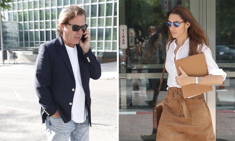 Pepe Navarro y su exmujer Lorena Aznar se ven las caras en los jugados en la última fase de su separación