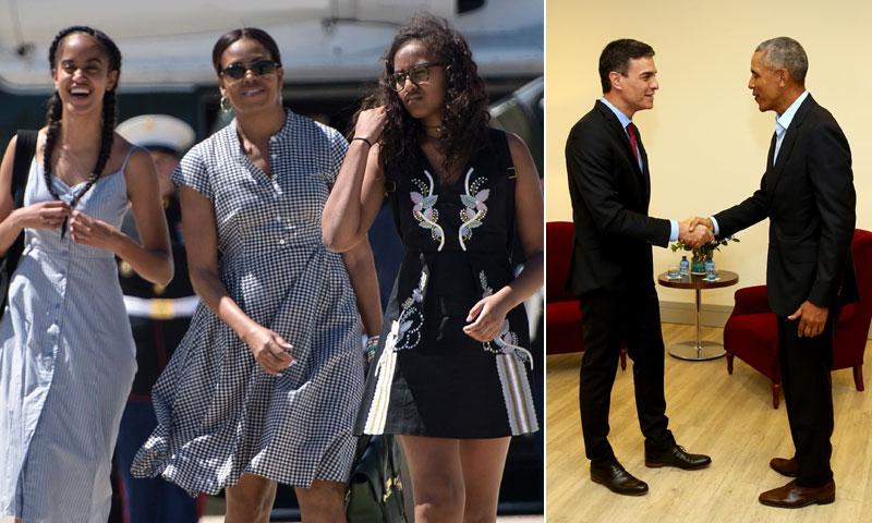 Los planes por Madrid de Michelle y sus hijas mientras Obama atiende sus compromisos
