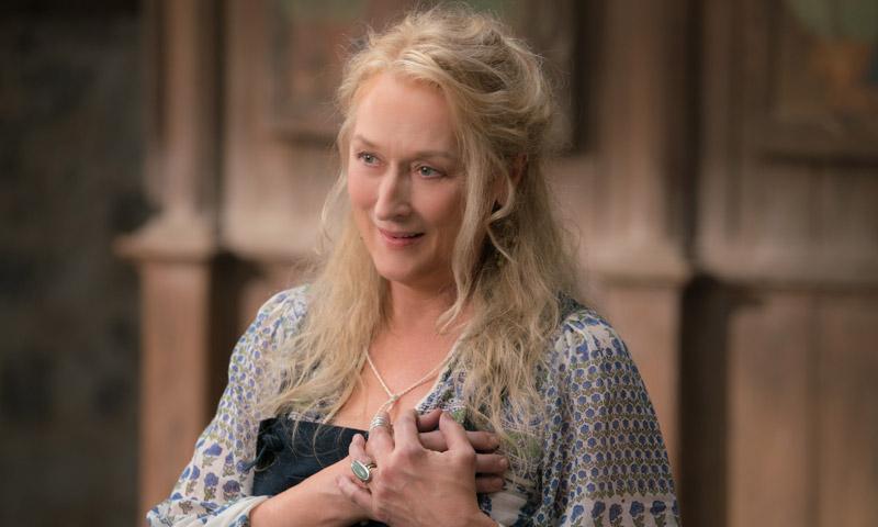 Meryl Streep en exclusiva: 'Yo no sabía que Lily James sabía cantar tan bien'