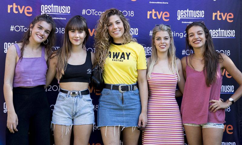 Amaia, Aitana, Ana Guerra, Miriam y Nerea no se pierden el último casting de OT 2018