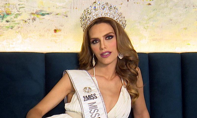 Ángela Ponce, que ha hecho historia al ser nombrada Miss, sueña con alzar la corona de Miss Universo: 'Ganar sería una lección para el mundo'