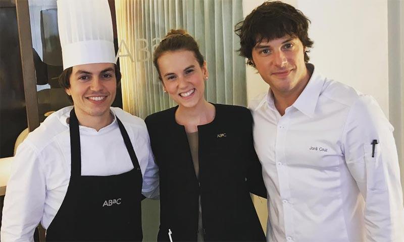 Jordi cruz ficha a la pareja del ltimo 39 masterchef - Escuela de cocina masterchef ...
