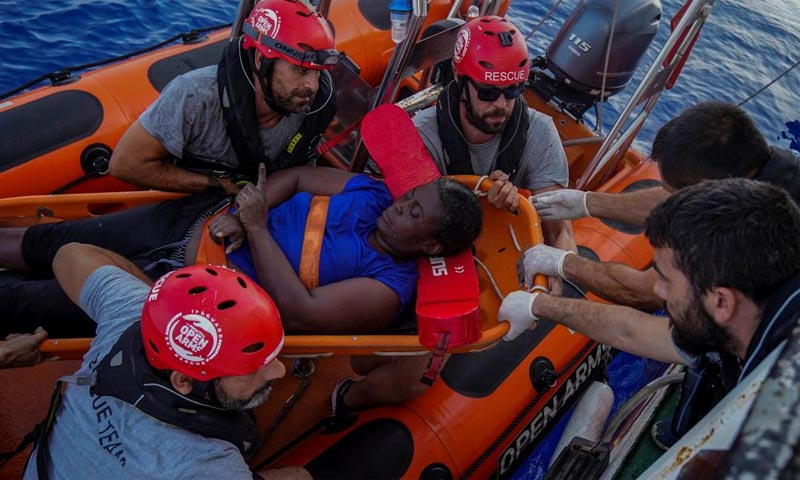 Marc Gasol participa con una ONG en el rescate de una inmigrante