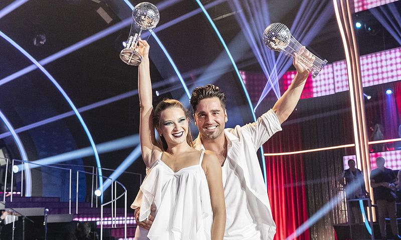 La euforia de David Bustamante y sus bonitas palabras a Yana Olina tras ganar 'Bailando con las estrellas'
